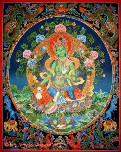 Green Tara116-16
