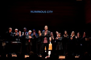 Performance of the opera Numinous City, New York, 2011